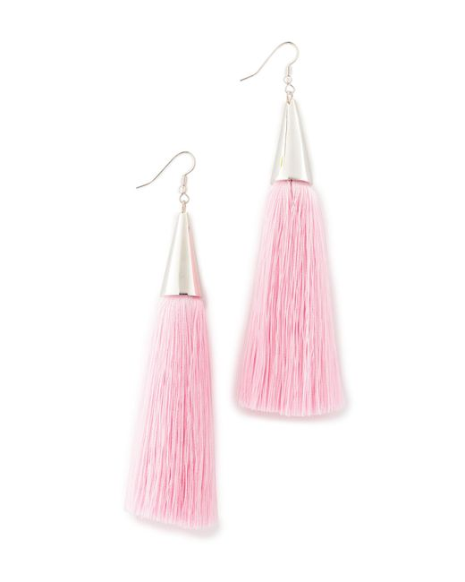 Eddie Borgo | Multicolor Silk Tassel Earrings | Lyst