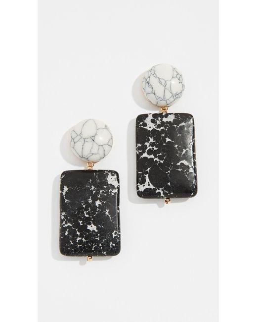 Lele Sadoughi - Multicolor Keepsake Stone Earrings - Lyst