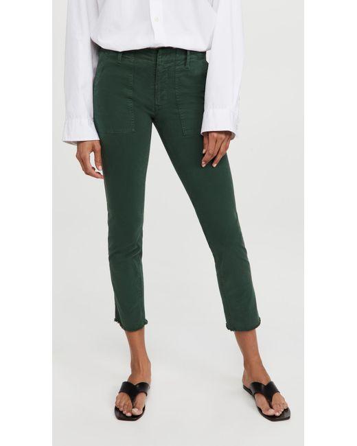 Nili Lotan Green Jenna Pants