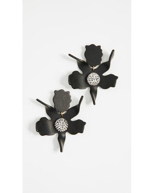 Lele Sadoughi - Multicolor Crystal Lily Earrings - Lyst
