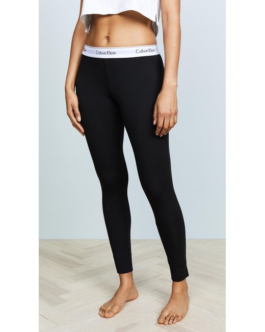 CALVIN KLEIN 205W39NYC - Black Modern Pajama Pants - Lyst