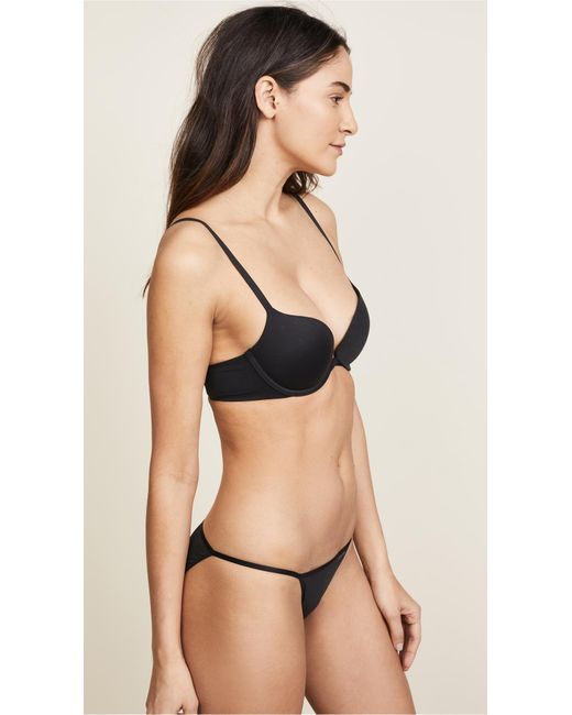 Calvin Klein Natural Perfectly Fit Memory Touch Push Up Bra
