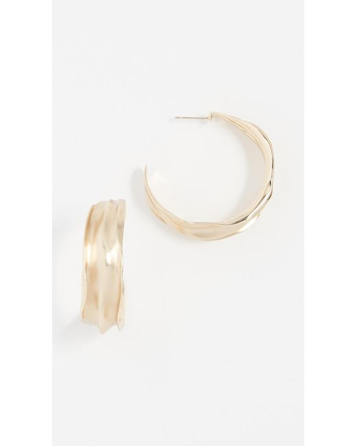Elizabeth and James - Metallic Eloise Earrings - Lyst