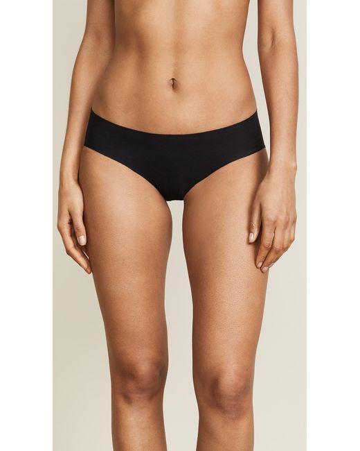 Commando - Black Cotton Bikini Briefs - Lyst