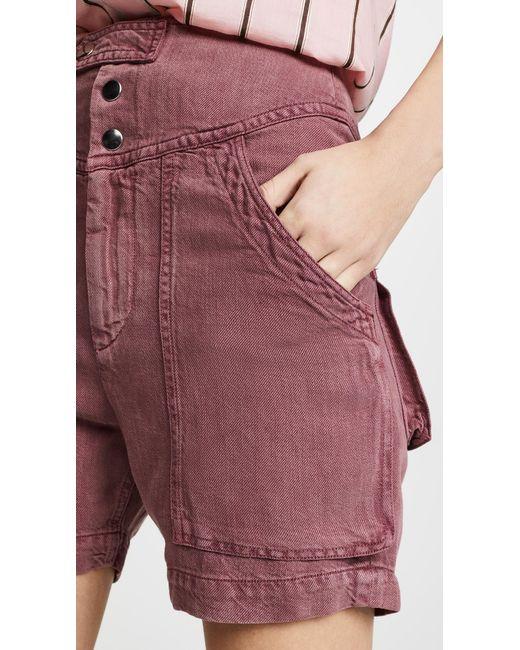 2043ca7b32 ... Étoile Isabel Marant - Multicolor Lainey Shorts - Lyst ...