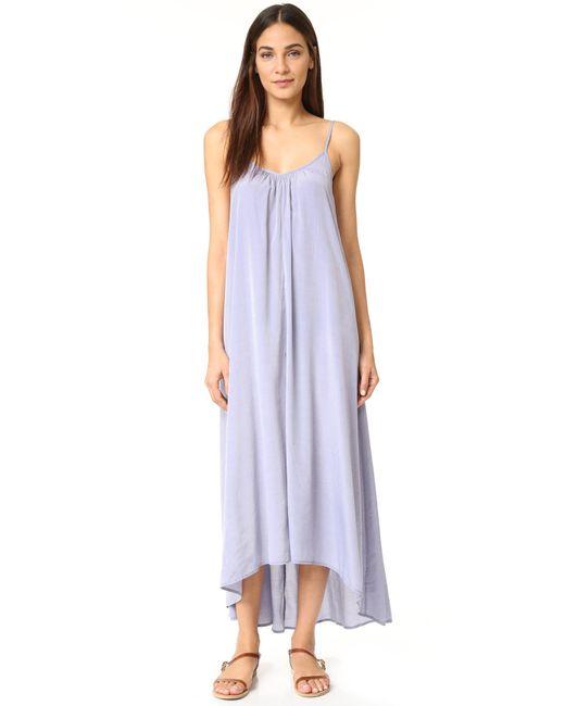 Pink Stitch | Purple Resort Maxi Dress | Lyst