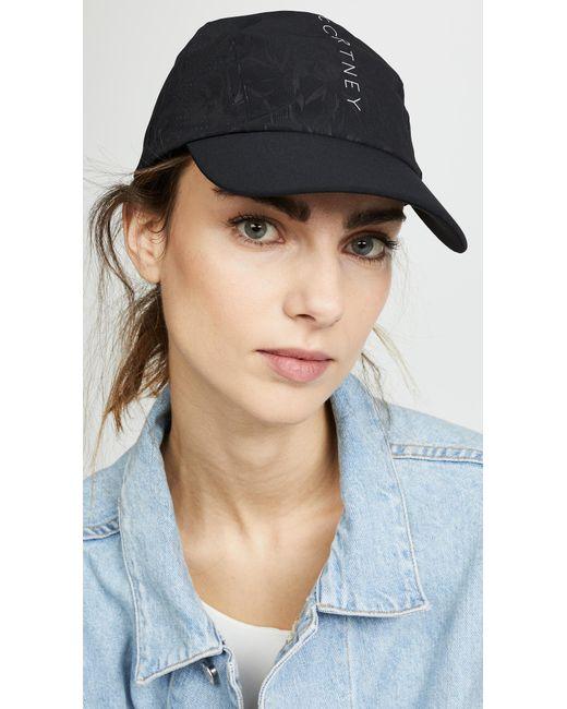 Adidas By Stella McCartney Black Running Hat