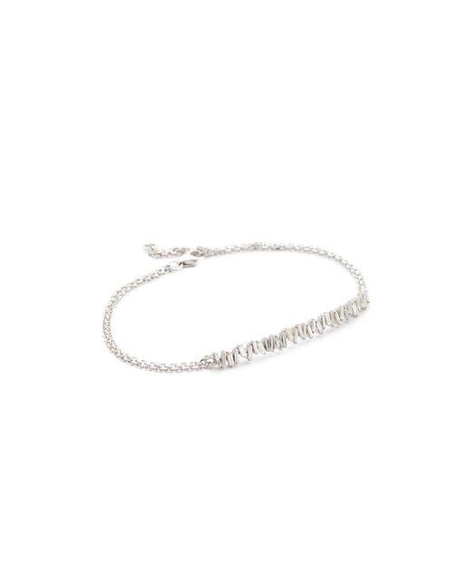 Suzanne Kalan - Metallic Fireworks 18k Gold Vertical Diamond Baguette Bracelet - Lyst