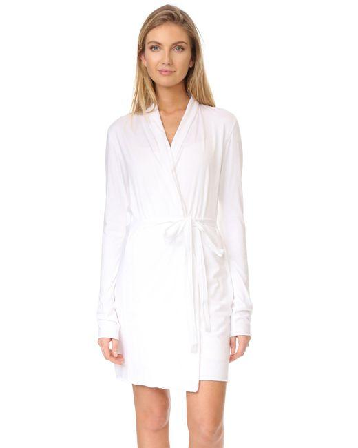 Skin - White Wrap Robes - Lyst