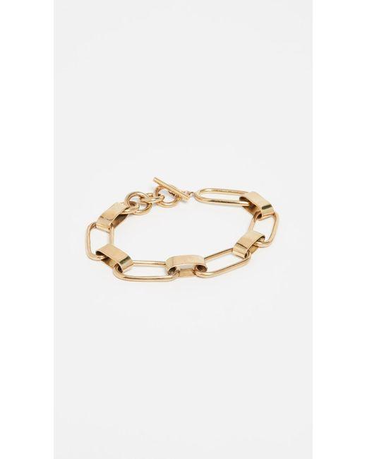 Soko Metallic Capsule Link Bracelet