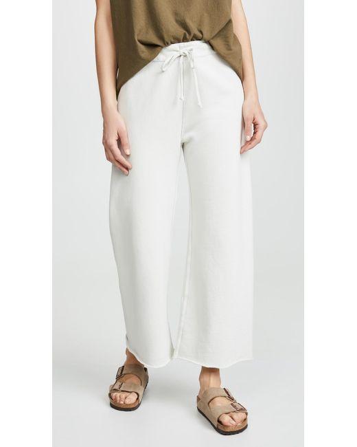 Nili Lotan White Kiki Sweatpants
