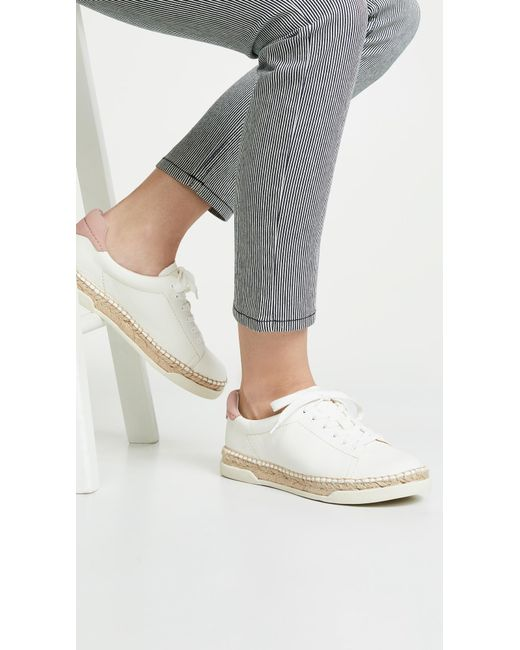 471e9a46326a ... Dolce Vita - White Madox Lace Up Espadrilles - Lyst ...