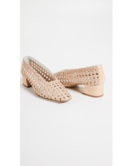 165864713b ... Miista - Pink Taissa Block Heel Pumps - Lyst ...