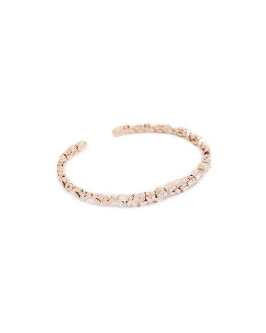 Suzanne Kalan - Metallic Fireworks 18k Gold Diamond Double Baguette Bracelet - Lyst