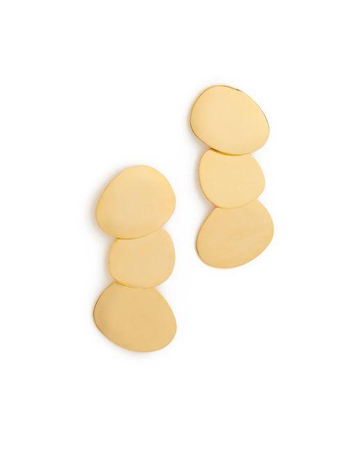 Lizzie Fortunato | Metallic Goldsworthy Earrings | Lyst
