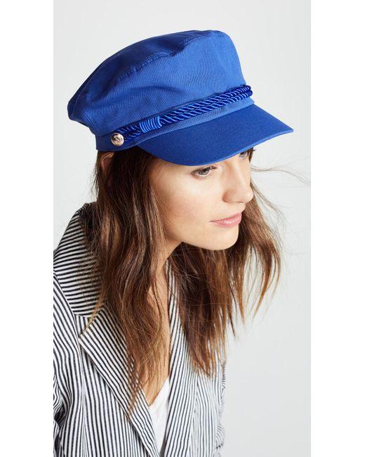 Hat Attack - Blue Emmy Newsboy Cap - Lyst