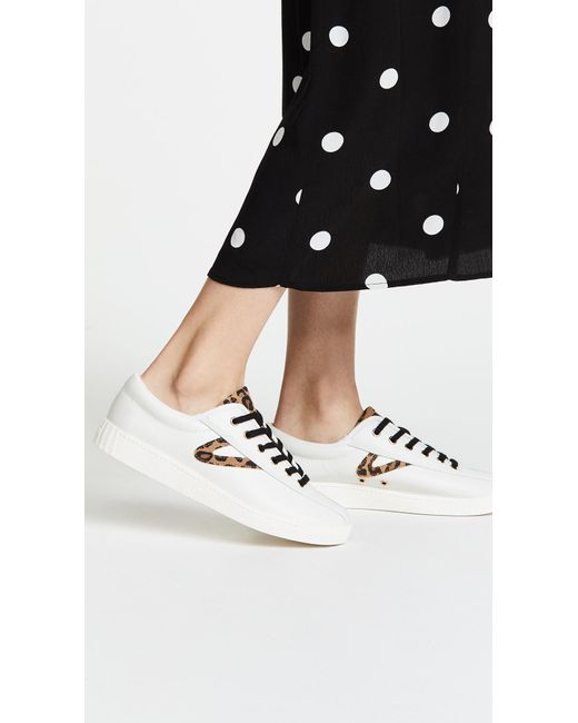 Women's White Nylite 25 Plus Lace Up Sneakers