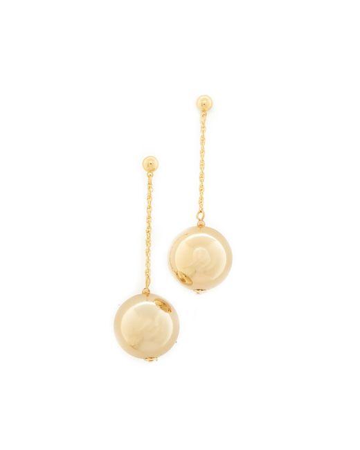 Kenneth Jay Lane | Metallic Dangling Sphere Earrings | Lyst