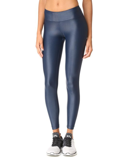 Koral Activewear | Blue Lustrous Leggings | Lyst