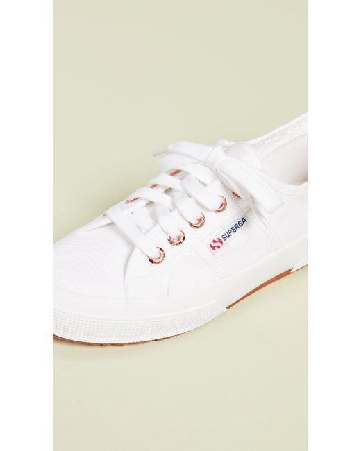 7a4d939ce4bf ... Superga - White 2750 Cotu Classic Sneakers - Lyst ...