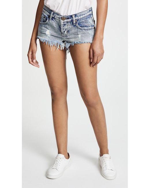 One Teaspoon Blue Bonitas Shorts