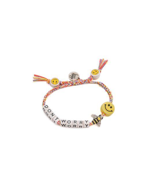 Venessa Arizaga   Metallic Dont Worry Bee Happy Bracelet   Lyst