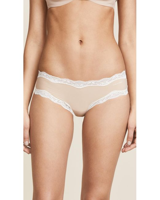 Calvin Klein - Multicolor Hipsters With Lace - Lyst