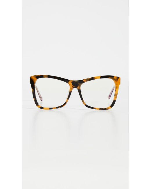 Karen Walker Multicolor Anning Alternate Fit Blue Light Glasses
