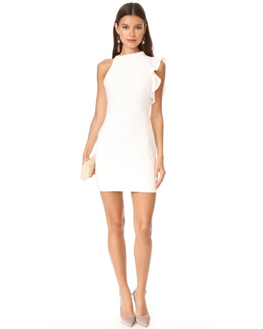 ... Black Halo - White Pabla Mini Dress - Lyst ...