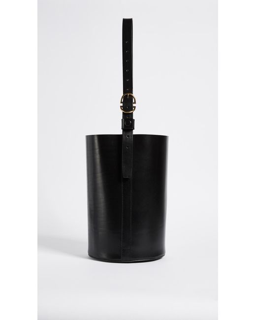Trademark - Black Bucket Bag - Lyst
