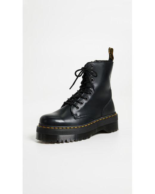 Dr. Martens Black Jadon 8 Eye Boots