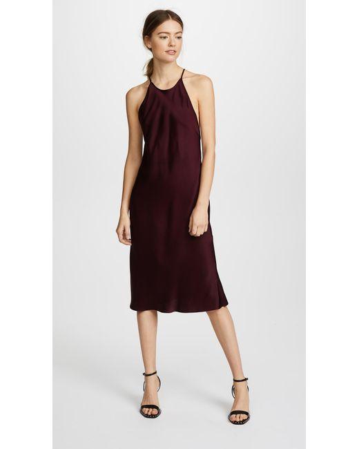 Protagonist - Purple Bias Slip Dress - Lyst