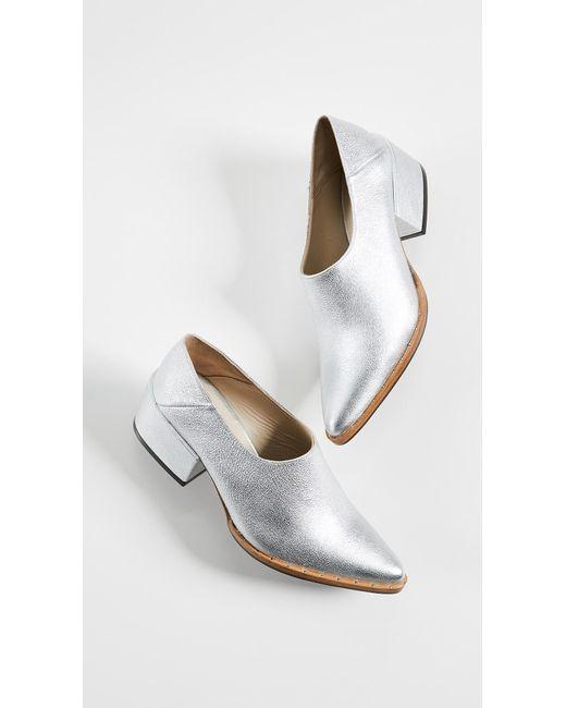 Crescent Block Heel Booties Freda Salvador ZEVY2