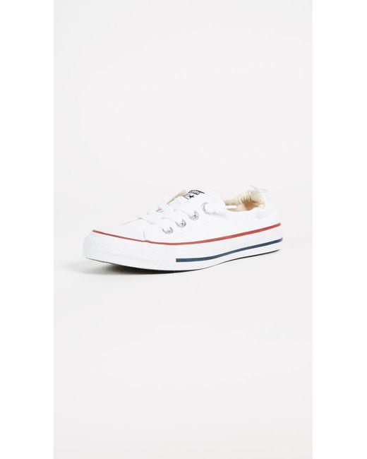 26e6e606d9786e Converse - White Chuck Taylor All Star Shoreline Slip On Sneakers - Lyst ...