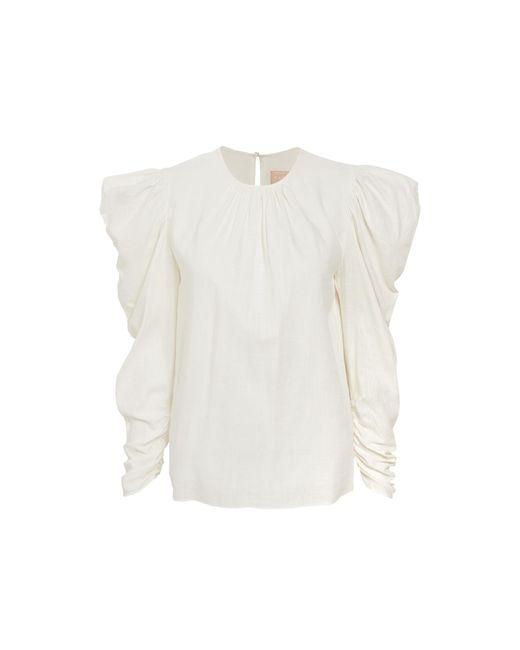 Keepsake White Wistful Long Sleeve Top