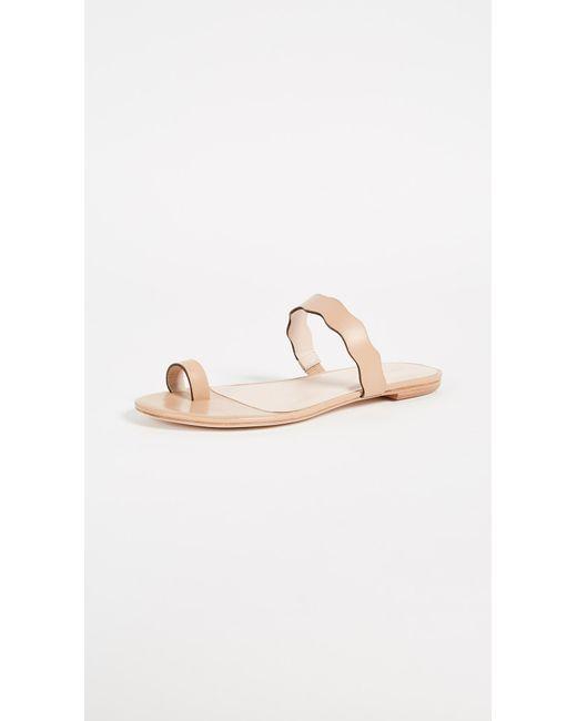 Loeffler Randall | Natural Petal Toe Ring Sandals | Lyst