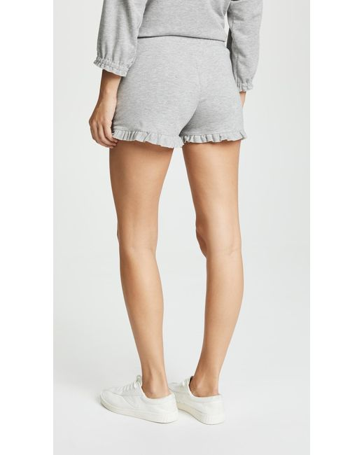 ruffled shorts - Grey Chlo Sexy Sport Outlet Eastbay Buy Cheap Shopping Online Factory Outlet For Sale Clearance Enjoy TB1Lmg4ts