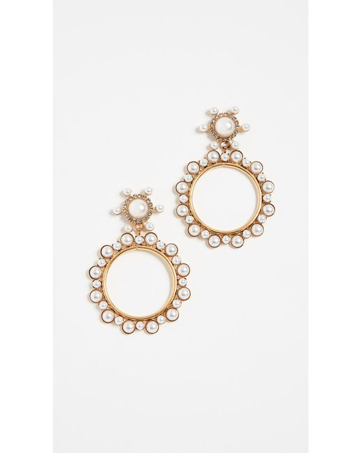 Elizabeth Cole - Multicolor Chantal Earrings - Lyst