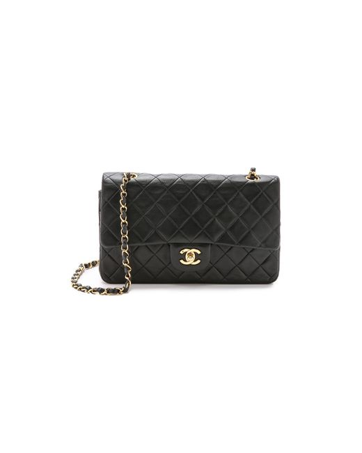 What Goes Around Comes Around - Black Chanel 10'' Shoulder Bag - Lyst