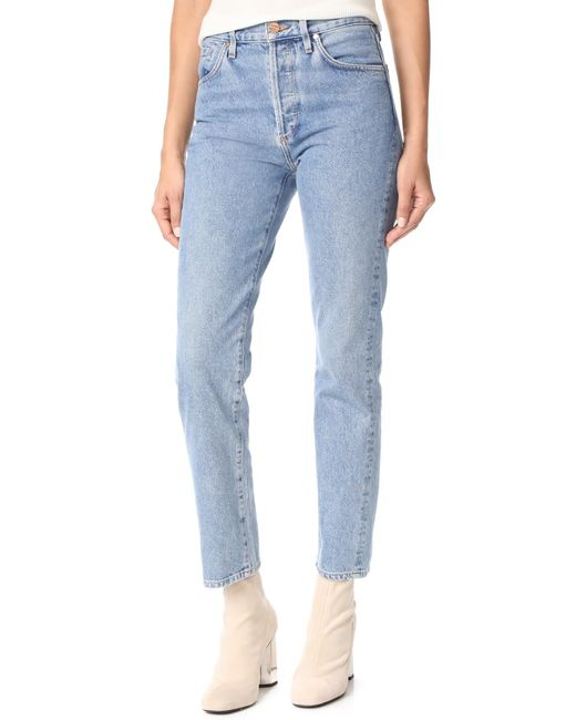 Goldsign - Blue The Benefit Jeans - Lyst