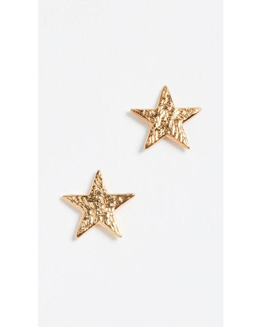 Gorjana - Metallic Star Stud Earrings - Lyst