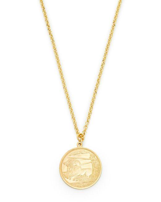 Shashi - Metallic Warrior Pendant Necklace - Lyst