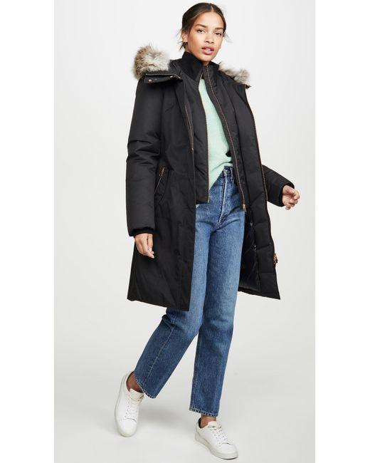 Mackage Black Harlow Luxe Down Coat