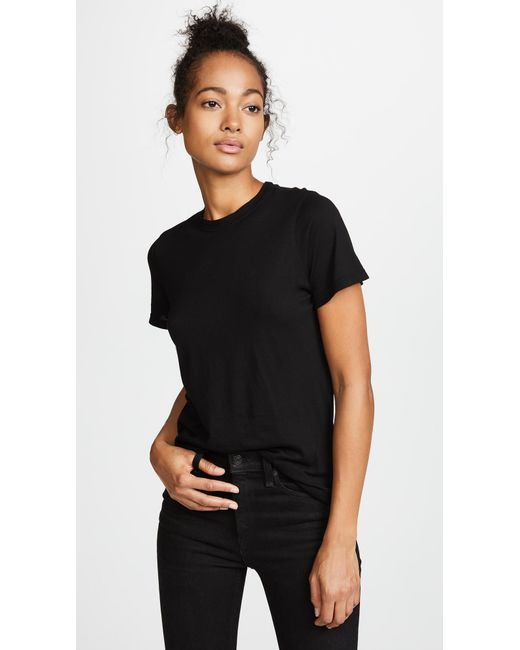 Cotton Citizen - Black Classic Crew Tee - Lyst