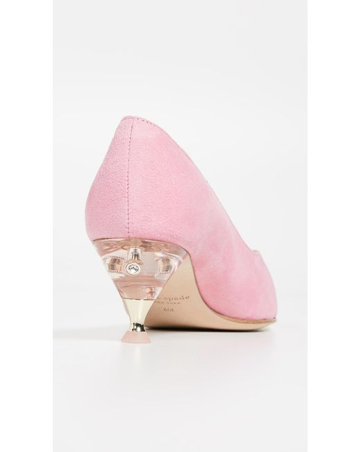 0a17620e2 ... Kate Spade - Pink Coco Point Toe Pumps - Lyst ...