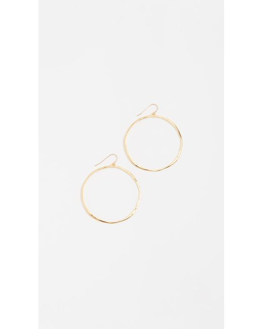 Gorjana | Metallic G Ring Earrings - Gold | Lyst