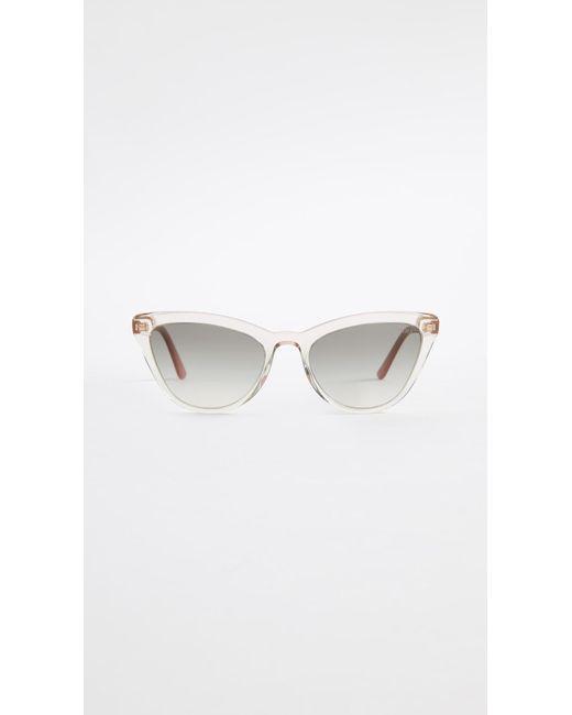 7f3eda465df Prada - Multicolor Pr 01vs Ultravox Cat Eye Sunglasses - Lyst ...