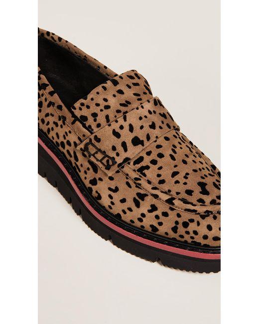 8512751ba2a Lyst - Rag   Bone Taryn Loafers in Brown - Save 20%