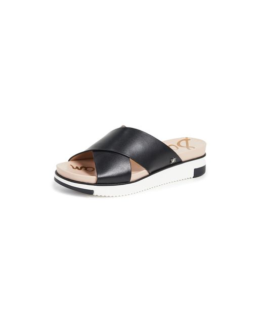 Sam Edelman Women's Black Audrea Slide Sandals