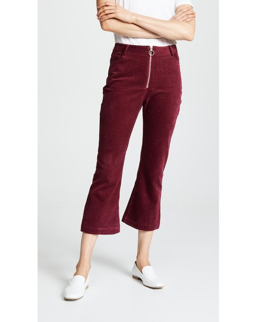Suncoo - Red June Trousers - Lyst